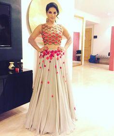 1536b54f852502 Designer Party Wear Indian Wedding Sari Bridal Bollywood Lehenga Choli New