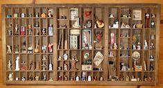 Type Tray full of Miniatures by MiniatureMadness.deviantart.com on @deviantART