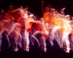 """Gjon Mili—The LIFE Picture Collection/Getty Images New York City Ballet performs Jerome Robbins's ballet, """"Dumbarton Oaks,"""" High Contrast Photos, Gjon Mili, City Ballet, Anatomy Reference, Life Pictures, Picture Collection, Life Magazine, Optical Illusions, Figurative Art"""