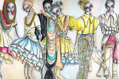 Paola Saliby - Draw, illustration