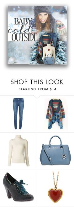 """""""Baby It's Cold Outside"""" by rainbowroad96 ❤ liked on Polyvore featuring Cheap Monday, Emanuel Ungaro, MICHAEL Michael Kors and Poetic Licence"""