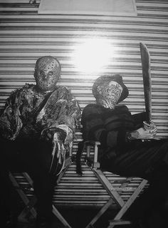 Jason Voorhees and Freddy Krueger .. these two scare the S**t out of me, still!