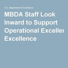 MBDA Staff Look Inward to Support Operational Excellence