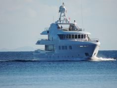 The only way to travel through the BVI -On a super Yacht! One can dream.......   Need a travel coordinator for your dream Caribbean vacation? C2C Travels can help! http://2744.mtravel.com/