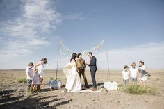 have your ceremony in a desert!