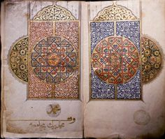 Africa   Decorated Qu'ran. National Library, Cairo, Egypt   Period: Mamluk, 14th C.    Image ©Werner Forman Archive