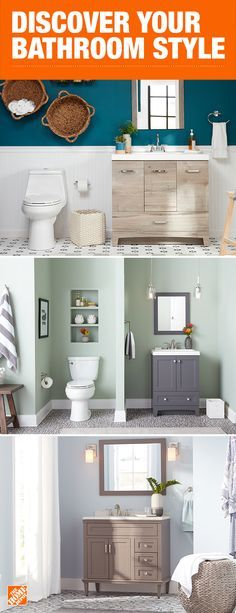 No matter your style, we have a variety of vanities, faucets, fixtures and decor to help achieve the bathroom of your dreams. Whether you prefer the eclectic vibes of the Stancliff collection, the coastal feel of the Thornbriar collection, or the calming cues from Abbotsford, we can help piece together the perfect bathroom. Click to shop.