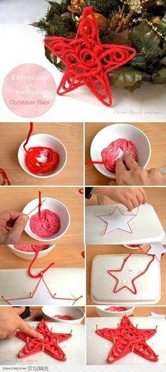 DIY Christmas Star DIY Projects | UsefulDIY.com na Stylowi.pl