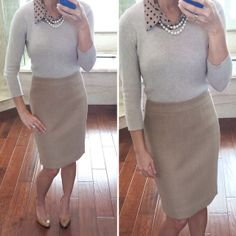Simple work outfit: neutrals and black stylish petite Fall Fashion Trends, Autumn Fashion, Simple Work Outfits, Stylish Petite, Business Attire, Business Casual, Work Wardrobe, Work Attire, Petite Fashion
