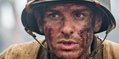 Actor Andrew Garfield as Desmond Doss - Hacksaw Ridge Movie