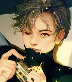 Vernon Fanart shared by 魔法 on We Heart It Jeonghan, K Pop, Fanart Kpop, Vernon Seventeen, Woozi Seventeen, Choi Hansol, Won Woo, K Wallpaper, Kpop Drawings