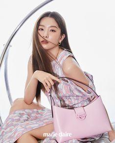 Shoulder Bag, Red Velvet Seulgi, Marie Claire, Kim Yerim, Bags, Girl Group, Seulgi Instagram, Park Sooyoung, Kang Seulgi