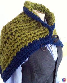 Es grünt so grün … crochet scarf @bewool