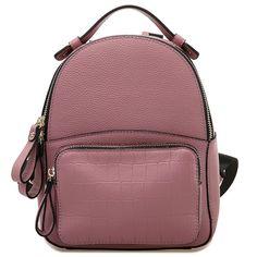 2017  Women Girl Genuine Leather Backpack School Bag Rucksack Satchel Backbag