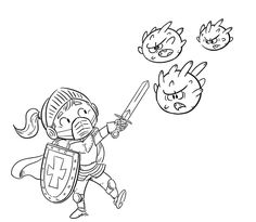 Knight fighting the crown virus - coloring page - Dibustock, Ilustraciones infantiles de Stock Earth Day Coloring Pages, Colouring Pages, Printable Coloring Pages, Coloring Pages For Kids, Coloring Books, Les Microbes, Cool Diy, Baby Drawing, 1st Day Of School