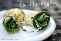 Zucchini Roll Ups - FaithfulProvisions.com