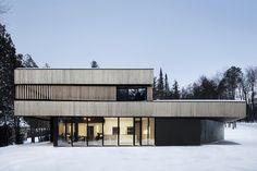 Gallery of Maison sur le Lac / ACDF Architecture - 13