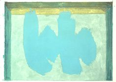 Blue Elegy by Robert Motherwell