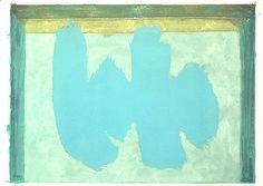 Blue Elegy - Robert Motherwell