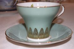 Vintage Aynsley Tea Cup  Large Rose Aynsley by TeaAttheBrits, $75.00