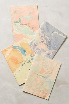 Marbled Notebook #anthrofave #anthropologie.com