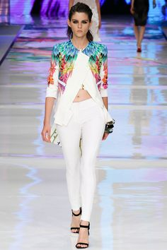 #MFW - Runway: Just #Cavalli Spring 2014 Ready-to-Wear Collection