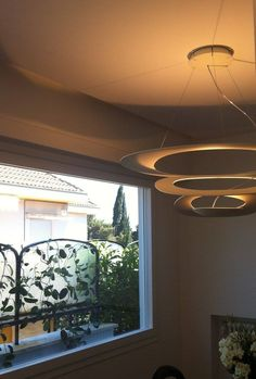 "PIRCE suspension, via @Savelli Architettura & Design on Facebook :  "" Zona pranzo, lampadario ""Pierce"" by Artemide"""