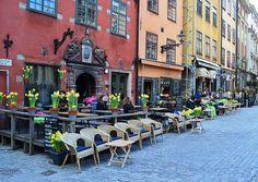 Old Town in Stockholm | Stortorget- Gamla Stan - Stockholm