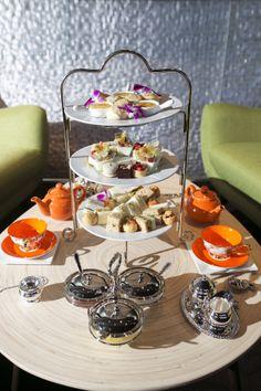 Low Tea ~  Tea sandwiches and savories exquisitely prepared by Chef Ron de Guzman.