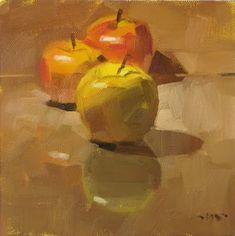 "Daily+Paintworks+-+""Please+Step+Forward""+-+Original+Fine+Art+for+Sale+-+©+Carol+Marine"
