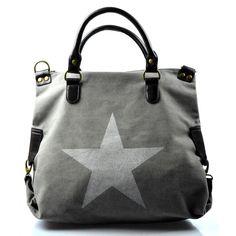 štýlová moderná sivá taška cez rameno military