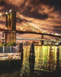 New York in lights