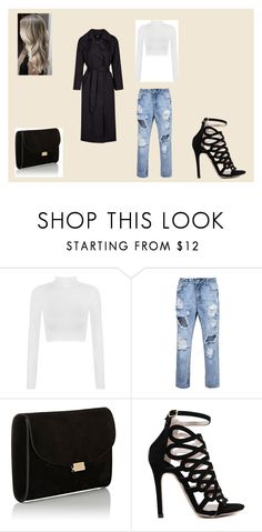 """""""Geen titel #244"""" by iris-22 ❤ liked on Polyvore featuring WearAll, Mansur Gavriel and Topshop"""
