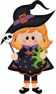 Silhouette Design Store - View Design #50722: witch holding lizard halloween