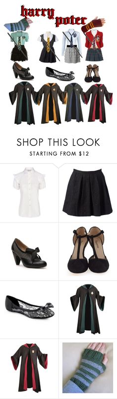 """""""•~•"""" by li-directioner on Polyvore featuring Valentino, Forever New, Crown Vintage, Repetto and Knitted Dove"""