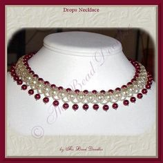 Looking for your next project? You're going to love Drops Necklace by designer bead doodler. - via @Craftsy