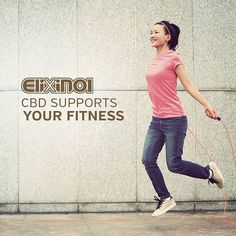 CBD can help improve your fitness performance by giving you more energy. Discovered by French scientists in 2012, mitochondria (the universal energy adaptors in all our cells), contain cannabinoid receptors. One of the main functions of mitochondria is to take high-energy molecules—sugars and amino acids—and convert them into energy. #Hemp #CBD #CBDOIl #HempCBD #hempHealth #Cannabis #elixinol #Healthy #Vegan    #Regram via @elixinol