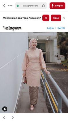 Kebaya Modern Hijab, Model Kebaya Modern, Kebaya Hijab, Batik Kebaya, Kebaya Dress, Kebaya Muslim, Batik Dress, Hijab Gown, Hijab Style Dress