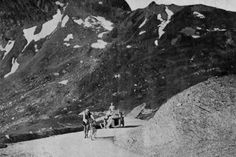 1910 21/7 rit 10 Col du Tourmalet > The first Le Tour to include the Pyrenees. Octave Lapize is the first to summit Tourmalet