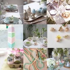 easter tablescape 555