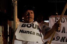 Marcha del 5 de Junio, cuarto aniversario del incendio de la  guarderia ABC, Hermosillo Sonora a 5 de Junio del 2013.©Luis Gutierrez