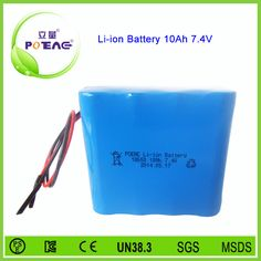 7.4V 10Ah li-ion battery waiting for you. Please contact me: WhatsApp: +86-13360650356 Email: sales02@liliangbattery.com
