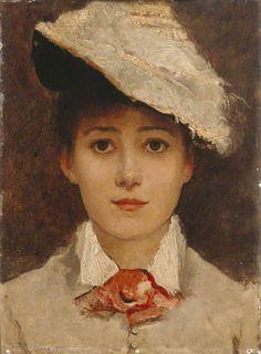 Self Portrait Louise Jopling (1843–1933)