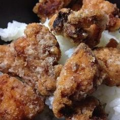 Crispy karaagee (Japanese style fried chicken) is a classic household dish in Japan! The key to this recipe is to marinate the chicken in a garlic and ginger based sauce.