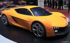 Hyundai Passocorto Concept New Sports Cars Sport Cars Hyundai Cars Geneva Motor Show