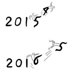 What goes around comes around! Happy 2016 every one! (Credit: Tango) #9gag @9gagmobile