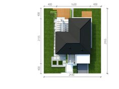 Sytuacja CPT Koncept 26 CE Future House, Floor Plans, How To Plan, Dom, Houses, Homes, Computer Case, Floor Plan Drawing, Home