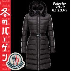 【感謝セール】0・1・2・3・4・5 Fabrefur Black☆モンクレール