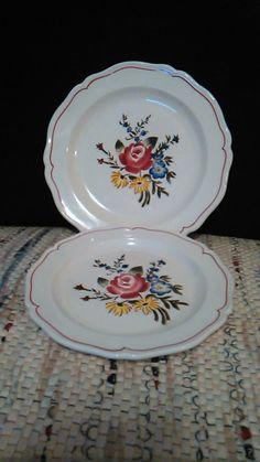Swiss Nyon Ceramic Plates by Gondara on Etsy