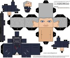 Cubee - The 12th Doctor by CyberDrone on deviantART